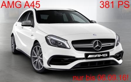 Mercedes AMG A45 Privatkundenleasing | 440,-€ pro Monat
