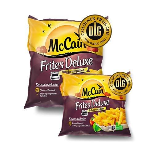 Gratis Packung McCain Frites Deluxe 600g oder 1200g Geldzurück!