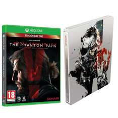 Metal Gear Solid 5: The Phantom Pain - Steelbook Edition (Xbox One) für 22,12€ bei Amazon.es
