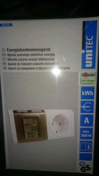 [Lokal Kaufland Dortmund Mengede] Digitales Energiekostenmessgerät