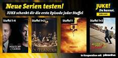 Serien-Episoden gratis - House of Cards, Preacher, Better Call Saul, Outlander