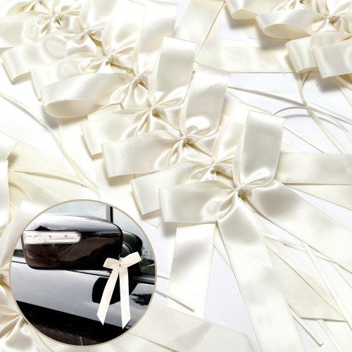 Supergünstige Autoschleifen für Hochzeit und Co