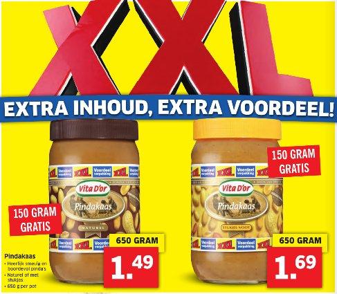 [GRENZGÄNGER NL] LIDL - Erdnussbutter 650g für 1,49 bz 1,69