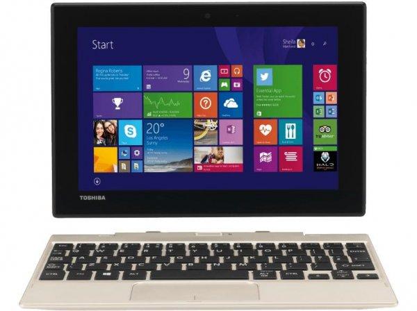 """TOSHIBA Satellite Click Mini: 8,9"""" Clickpad (1920x1200 Full HD IPS Display), Intel® Atom Z3735F, 2GB Ram, 64GB Speicher, Micro-HDMI, Micro-USB 2.0, USB 2.0, WLAN, Bluetooth 4.0, Full HD Webcam, Win 8.1  für 188€ @Media Markt AT"""