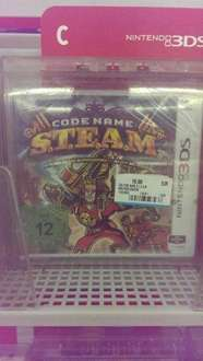 3DS - Code Name Steam - Media Markt Stuttgart am Hauptbahnhof