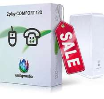 Unitymedia - 200€ Cashback (2play Comfort 120) + 60€ Online Bonus + 24 Monate 10€ Rabatt --> 16,65€ / mtl.
