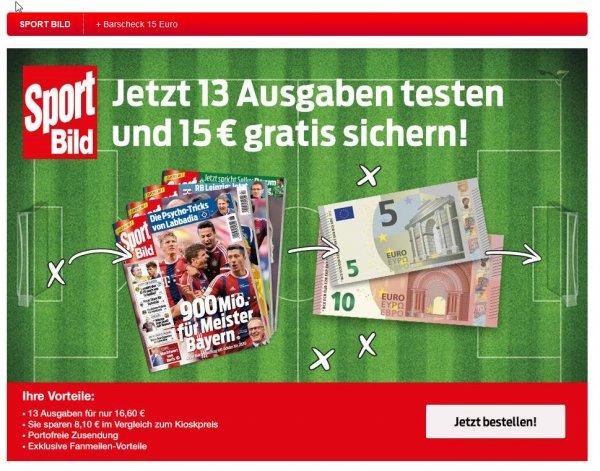 13 (17) Sportbild Ausgaben für nur €1,60