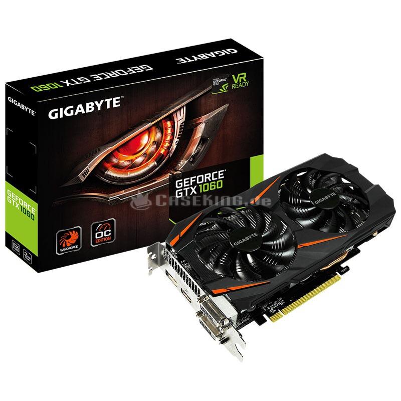 Gigabyte GTX 1060 Windforce 6 GB und GTX 1070 G1 Gaming