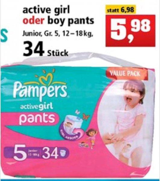 Pampers pants Größe 5