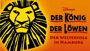 2 Tickets für König der Löwen (PK3) in Hamburg für 99€ (inkl. VVK-Gebühren exkl. Versand) - Di-Do