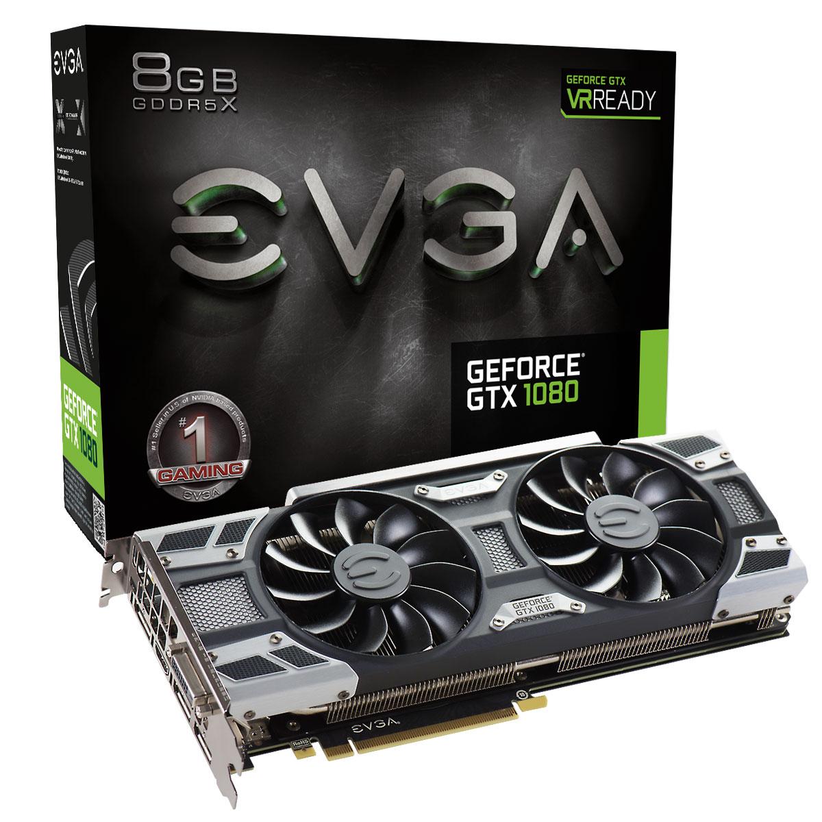 EVGA GeForce GTX 1080 Gaming ACX 3.0 662,99€ @CaseKing