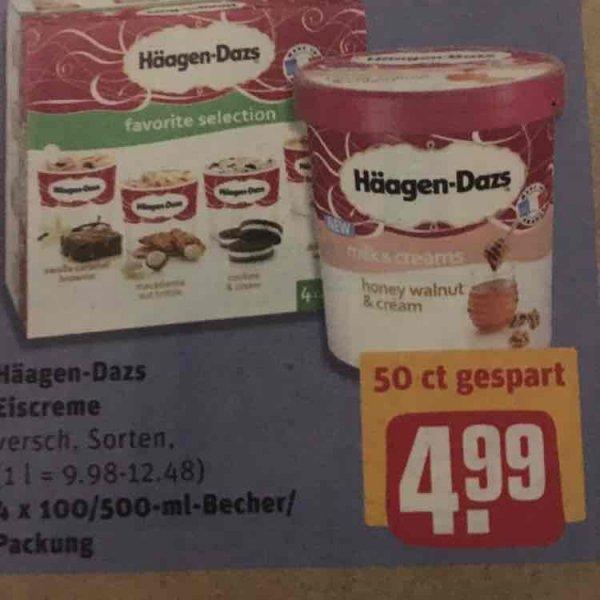 Häagen-Dazs Eiscreme in REWE