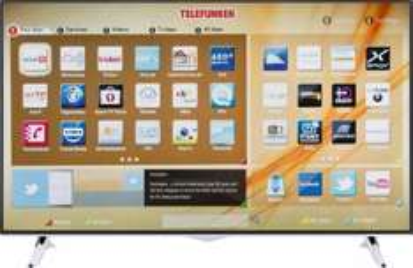 "Telefunken 48"" L48U300A4CW-3D 4K UHD TV, Smart TV, (3840 x 2160 Pixel), 800HZ CMP, 4xHDMI, WLAN, 3D incl. 2 Brillen, DVB-T2, DVB-C, DVB-S für 474€ @Digitalo.de"