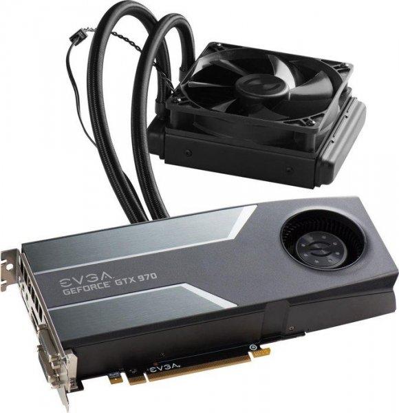 wassergekühlte EVGA GTX 970 Hybrid Gaming ( PVG: 283)