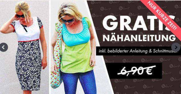 Gratis Nähanleitung für das Kleid `Ferrara´ in Größe 36-54 bei [Makerist] statt 6,90€