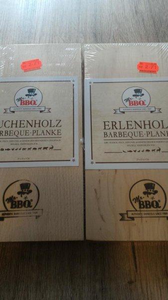 [Lokal Neu-Ulm] Kaufland Borsigstraße Mr. BBQ Barbeque-Planke Erle und Buche