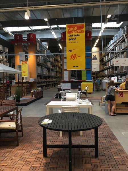 """[IKEA Lokal Siegen] Preiskracher """"ÄNGSÖ"""" Gartentisch nur € 19,- statt € 139,-"""