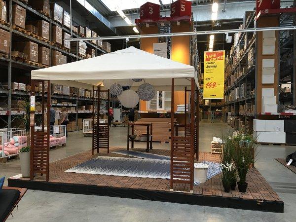 "[IKEA Lokal Siegen] ""ÄPPLARÖ"" Garten-Pavillon für € 149,- statt € 299,-"