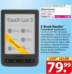 [Regional/Schleswig-Holstein/Hamburg] Famila - PocketBook Touch Lux 3 eBook-Reader 79,99€