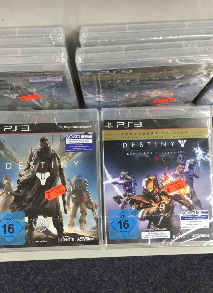 Destiny für PS3 - Standard und Legendäre Edition für 5€
