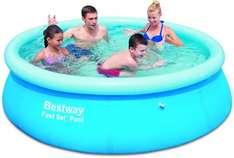 Bestway Fast Set Pool, blau, (244 x 66 cm) 3 lagiges Material für 17,99€ @Amazon.de Blitzangebote
