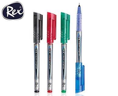 [Aldi Süd] Rex® 4 Free Ink Tintenroller (4 Stück zu 0,99€) ab Donnerstag