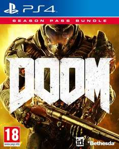 Doom (PS4) + Season Pass für 31,07€ [Amazon.co.uk]
