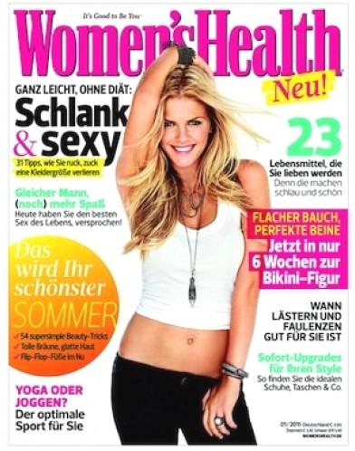 1 Jahr Women's Health für 25,00€ mit 20,00€ Amazon-Gutschein