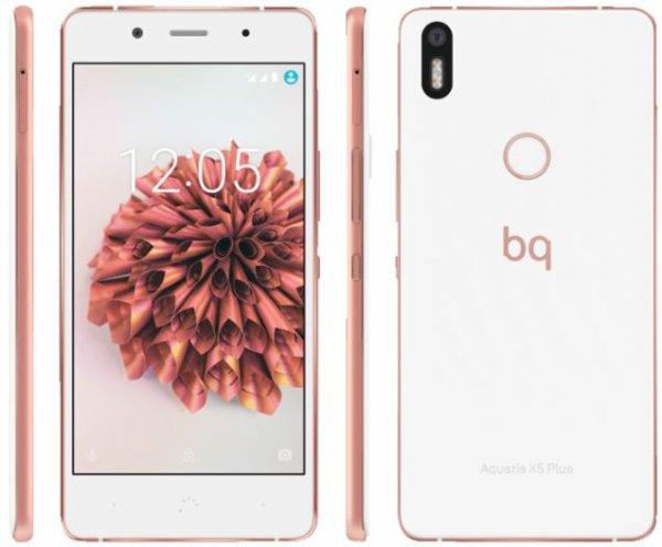 BQ Aquaris X5 Plus LTE + Dual-SIM (5 FHD IPS, Snapdragon 652 Octacore, 3GB RAM, 32GB eMMC, 16MP + 8MP Kamera, Galileo + GPS + Beidou, Fingerabdruckscanner, kein Hybrid-Slot, 3200mAh, Android 6) für 300,99€ [Media Markt, online]