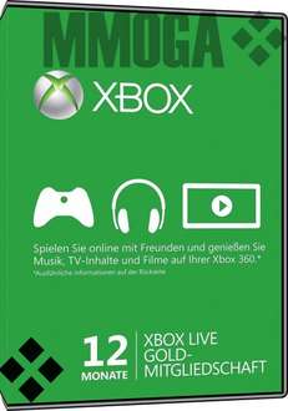 Xbox Live Gold 12 Monate für 28,00 € - ebay.de