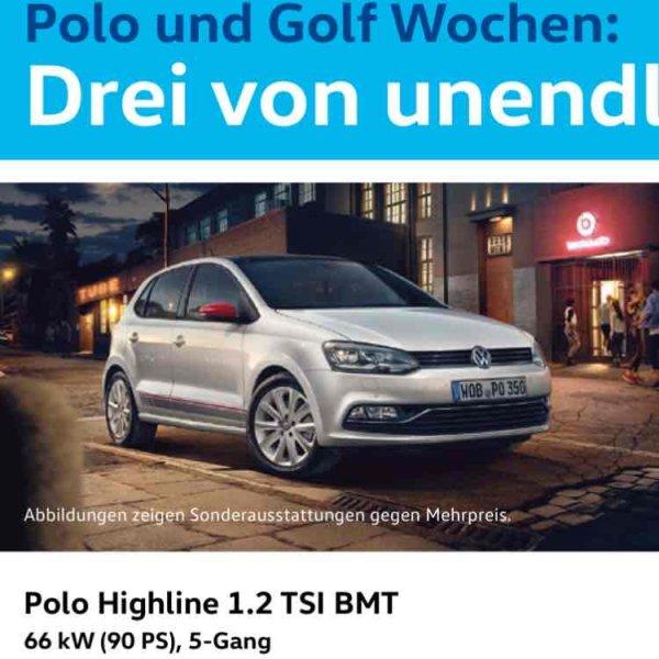 [Gewerbeleasing] VW Polo Highline 1.2 TSI BMT