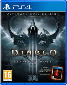 (Amazon.co.uk) Diablo 3: Reaper of Souls - Ultimate Evil Edition (PS4) für 19,95€