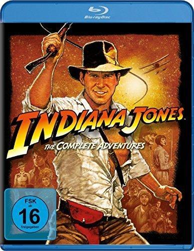 Indiana Jones - The Complete Adventures (1-4) (Bluray) für 11,91€ inkl. Versand u.a. Boxen [Thalia]