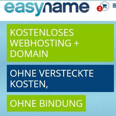 Gratis .DE/.COM/.EU etc. Domain + 20 GB Webhosting