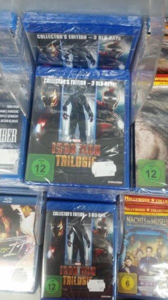 SATURN SPANDAU - Diverse BD für je 4,99 z.B Iron Man Trilogie, Letx27s be Cops