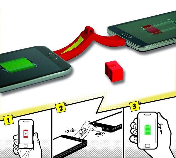 Phone to Phone Ladegerät