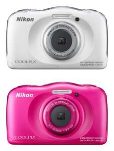 "Nikon™ - Digitalkamera ""CoolPix S33"" (13,2MP,3xopt.Zoom,Full HD Mov.,Bildstabilisator,Wasserdicht,Staubdicht,Stoßfest) für €85,14 [@Amazon.fr]"