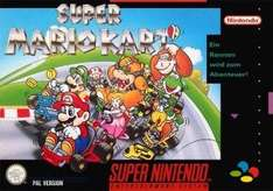 [Konsolenkost] SNES Super Mario Kart (Modul) inkl. 2 Controller (gebraucht)