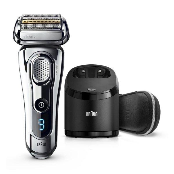 Braun Series 9 9296cc + Braun BT5010 Barttrimmer + 5 Reinigungskartuschen für 315,27 €