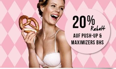 O`zapft is`! - Hunkemöller: 20% Rabatt auf Dirndl, Push-up und Maximiser BHs der Oktoberfest Kollektion