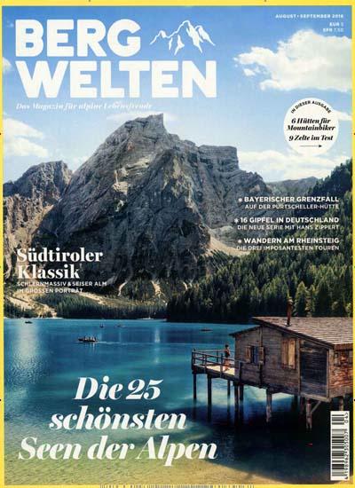 Wieder da: Bergwelten Magazin für 36€ mit 35€ Amazon-Gutschein bzw. 30€ Geldprämie