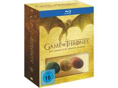 [lokal Saturn Berlin Alex] Game Of Thrones Staffel 5 (Blu-ray) exklusive & limitierte Edition inkl. 3 Dracheneier und Bonus-Disc für 25€