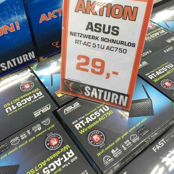 [Lokal] Asus RT-AC51U im Saturn Darmstadt