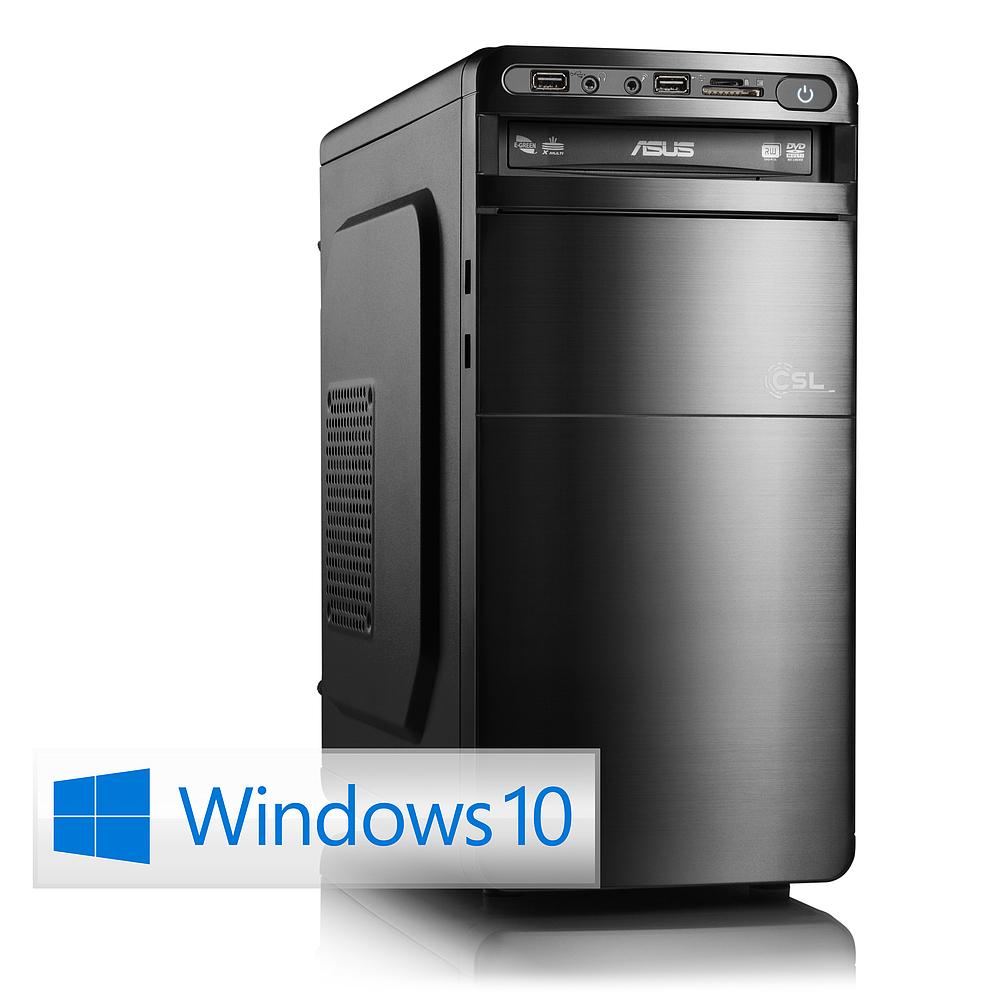 CSL Media-PC Sprint X5812 AMD A8-6600K 240GB SSD, 16GB DDR3, AMD Radeon™ HD 8570D für 449 statt 499€