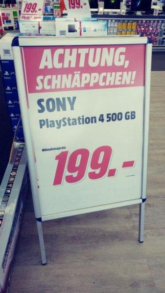 PS4 500GB  [lokal Mediamarkt Traunreut]