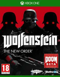 Xbox One - Wolfenstein : The New Order für €13,52 [@Amazon.fr]