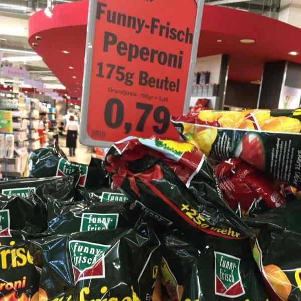 [Lokal Voerde] Chipsfrisch Peperoni 175gr für 0,79