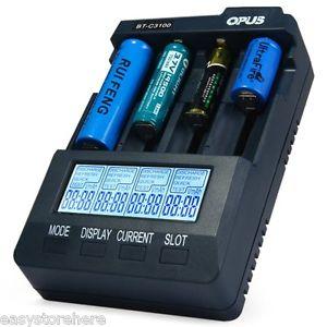Opus BT-C3100 V2.2 Ladegerät, Analyzer und Tester für 17,21€ [Ebay]