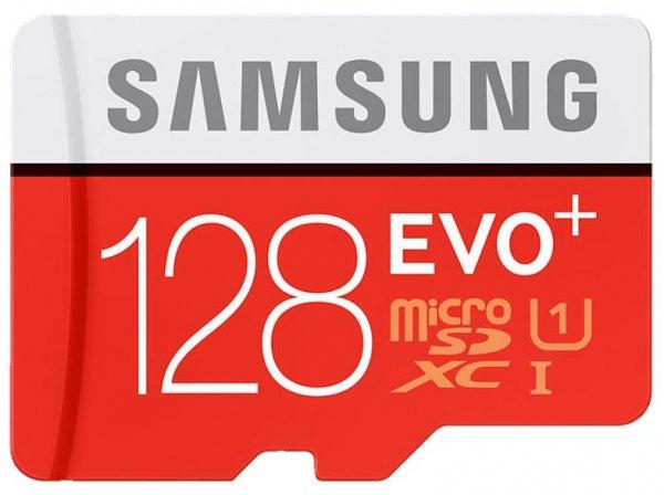 Samsung 128GB EVO+ microSD Speicherkarte 80MB/s [+SD-Adapter] für 29,-€ bei Abholung [Mediamarkt/Amazon]