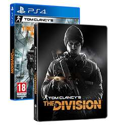 [amazon.fr] Tom Clancys The Division - Standard inkl. Steelbook - [PlayStation 4]